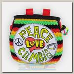 Мешок для магнезии Boulder Monster #PeaceLoveClimbing