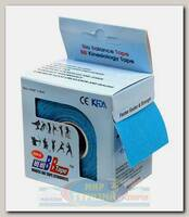 Кинезиотейп BBTape MAX 5см x 5м Голубой