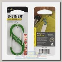 Карабин Nite Ize S-Biner Aluminum #3 Lime