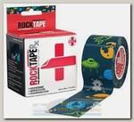 Кинезиотейп Rocktape RX 5 см x 5 м Space