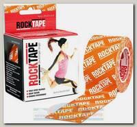 Кинезиотейп Rocktape Classic, 5 см х 5 м, оранжевый логотип