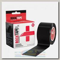 Кинезиотейп Rocktape RX, 5см х 5м, Черный
