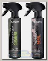 Набор для стирки Grangers Footwear Repel + Gear+Footwear Cleaner 275 мл