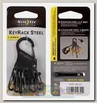 Брелок Nite Ize KeyRack Steel™ S-Biner® Black
