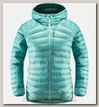 Куртка женская Haglofs Essens Down Hood Glacier Green/Willow Green