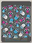 Бандана 4Fun Reversible Owl Grey