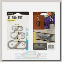 Карабин Nite Ize S-Biner® SlideLock® Stainless Steel (3 шт.)