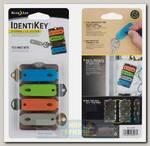 Маркеры для ключей Nite Ize Identi-Key Card Storage + ID System.