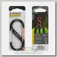 Карабин Nite Ize S-Biner® Aluminum #4 Charcoal
