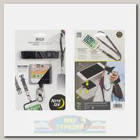 Фиксатор для телефона Nite Ize Hitch Phone Anchor+Lanyard Black
