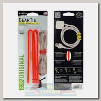 Хомут Nite Ize Gear Tie® Reusable Rubber Twist Tie™ 12 Orange