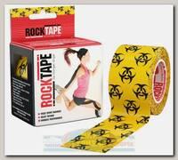 Кинезиотейп Rocktape Design, 5см х 5м, Биоугроза