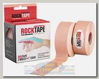 Кинезиотейп Rocktape Digit, 2,5 см х 5 м (2шт), Телесный