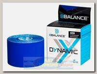 Кинезиотейп BBTape Dynamic MAX 5см x 5м Темно-синий