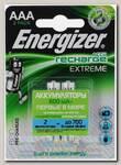 Аккумуляторы Energizer Extreme AAA 800 мАч