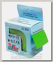 Кинезиотейп BBTape MAX 5см x 5м Лайм