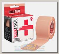 Кинезиотейп Rocktape RX, 5см х 5м, телесный
