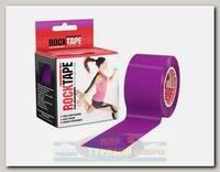 Кинезиотейп Rocktape Classic, 5см х 5м, Фиолетовый