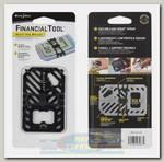 Карманный инструмент Nite Ize FinancialTool V2 Black