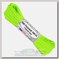 Паракорд Atwood Rope 550 Neon Green