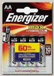 Батарейка Energizer MAX Alk E91/AA BP4