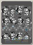 Бандана 4Fun Reversible Husky
