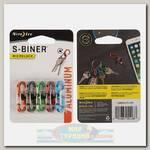 Карабин Nite Ize S-Biner® MicroLock® Aluminum (5 шт.)