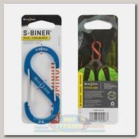 Карабин Nite Ize S-Biner® Aluminum #4 Blue