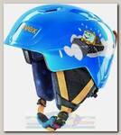 Горнолыжный шлем детский Uvex Manic Синий/Трактор