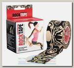 Кинезиотейп Rocktape Design, 5см х 5м, Тату