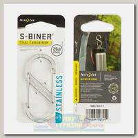 Карабин Nite Ize S-Biner® #3 Steel