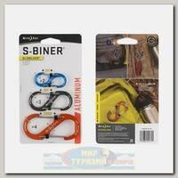 Карабин Nite Ize S-Biner® SlideLock® Aluminum (3 шт.)