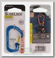 Карабин Nite Ize SlideLock® Aluminum #3 Blue