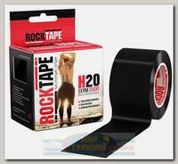 Кинезиотейп Rocktape H2O, 5см х 5м, черный