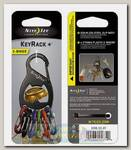 Брелок Nite Ize KeyRack+™ S-Biner® Bottle Opener Black