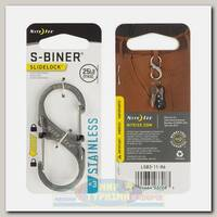 Карабин Nite Ize S-Biner® SlideLock® Stainless Steel #3