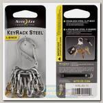 Брелок Nite Ize KeyRack Steel™ S-Biner® Steel