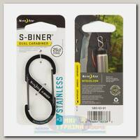 Карабин Nite Ize S-Biner® #3 Black