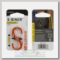 Карабин Nite Ize S-Biner® SlideLock® Aluminum #2 Orange