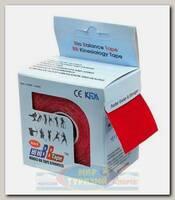 Кинезиотейп BBTape MAX 5см x 5м Красный