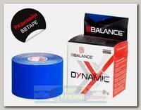 Кинезиотейп BBTape 5см x 5м Dynamic Темно-синий