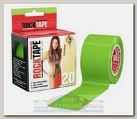 Кинезиотейп Rocktape H2O, 5см х 5м, Лайм-Зеленый