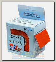 Кинезиотейп BBTape MAX 5см x 5м Оранжевый