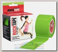 Кинезиотейп Rocktape Classic 5 см х 5 м Лайм/Зеленый