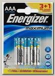 Батарейка Energizer MAX Plus Alk E92/AAA FSB4