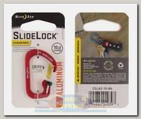 Карабин Nite Ize SlideLock® Aluminum #2 Red