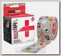 Кинезиотейп Rocktape RX 5 см x 32 м Animals