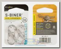 Карабин Nite Ize S-Biner® #1 Steel