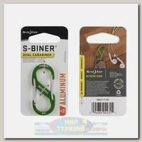 Карабин Nite Ize S-Biner® Aluminum #2 Lime